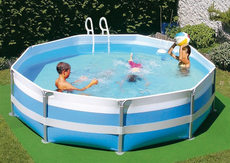 8006956700812 piscina bahamas 450 kit new plast for Kit piscina fuori terra