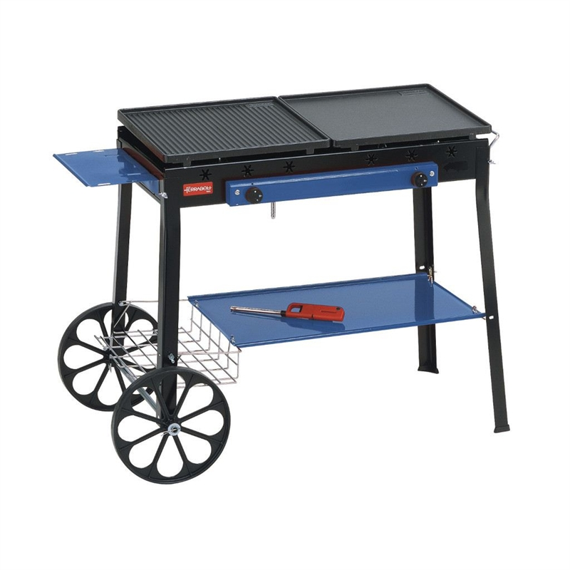 Barbecue Ghisa Gas Stereo