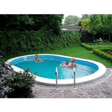 Piscina Toscana 600 kit 600x320 mt. - Piscine Interrate New Plast a prezzi scontati