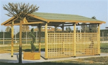 Pergola Stay a Due Falde 400x500
