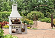 Barbecue in cemento Faro New - Sistema modulare
